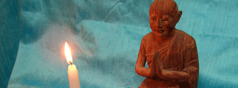 Candle and Figurine